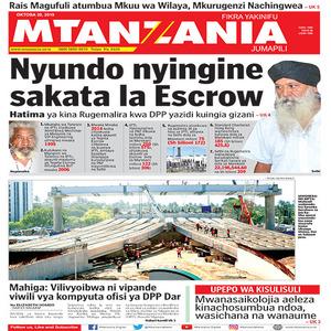 Nyundo nyingine sakata la Escrow