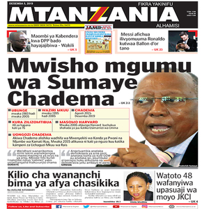 Mwisho mgumu wa Sumaye Chadema