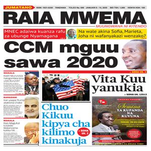 CCM mguu sawa 2020