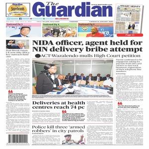 NIDA officer  agent held for  NIN delivery bribe attempt