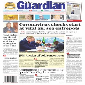 Coronavirus checks start at vital air  sea entrepots