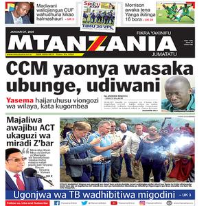 CCM aonya wasaka ubunge  udiwani