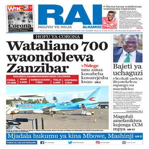 HOFU YA CORONA  Wataliano 700 waondolewa Zanzibar