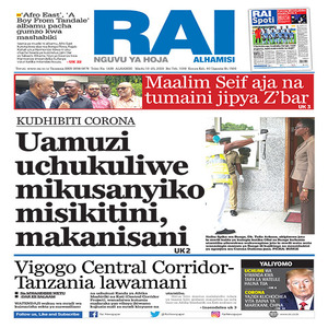 KUDHIBITI CORONA  Uamuzi uchukuliwe mikusanyiko misikitini  makanisani