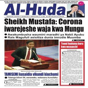Sheikh Mustafa  Corona iwarejeshe waja kwa Mungu