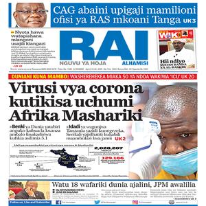 Virusi vya corona kutikisa uchumi Afrika Mashariki