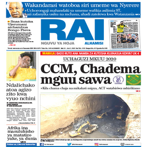 UCHAGUZI MKUU 2020  CCM  Chadema mguu sawa