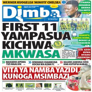 FIRST 11 YAMPASUA KICHWA MKWASA