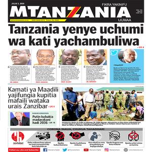 Tanzania yenye uchumi wa kati yachambuliwa