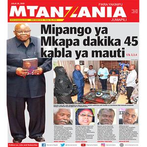 Mipango ya Mkapa dakika 45 kabla ya umauti wake