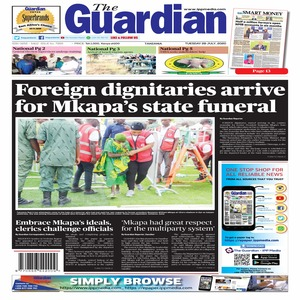 Foreign dignitaries arrive for Mkapa s state funeral