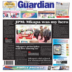 JPM  Mkapa was my hero