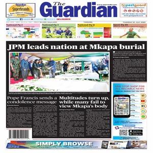 JPM leads nation at Mkapa burial