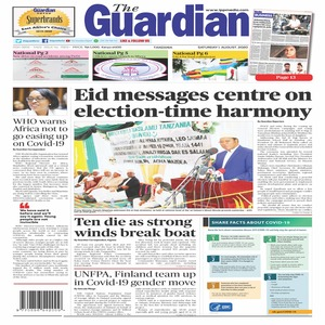 The Guardian 1 August 2020
