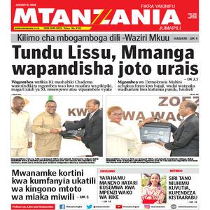 Tundu Lissu  Mmanga wapandisha joto urais