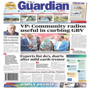 The Guardian 14 August  2020