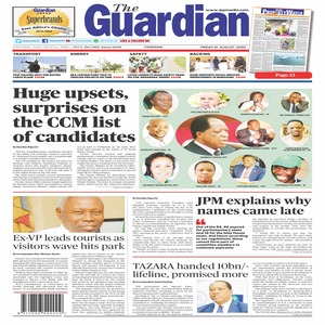 The Guardian 21 August 2020