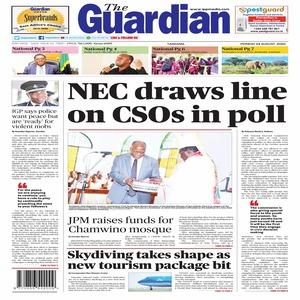 NEC draws line on CSOs in poll