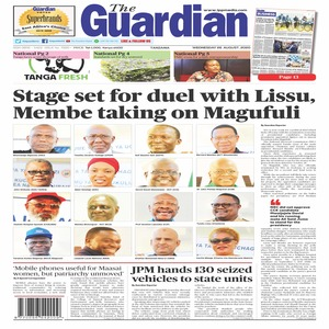 The Guardian 26 August  2020