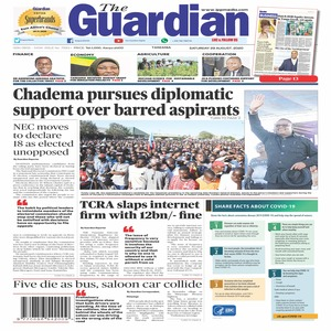 Chadema pursues diplomatic support over barred aspirants