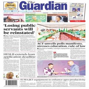 The Guardian 1 September 2020