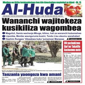 Wananchi wajitokeza kusikiliza wagombea