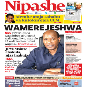 NIPASHE 9 SEPTEMBA 2020