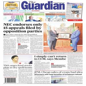 The Guardian 9 September  2020