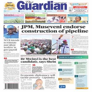 JPM  Museveni endorse construction of pipeline