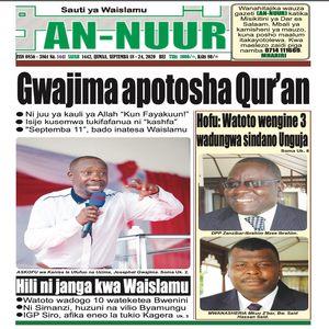 Gwajima apotosha Qur an