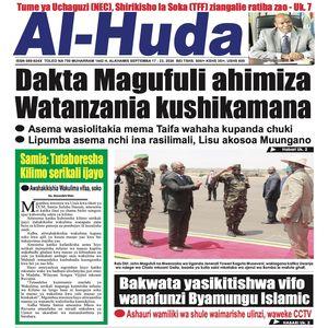 Dakta Magufuli ahimiza Watanzania kushikamana