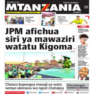 JPM afichua siri ya mawaziri watatu Kigoma