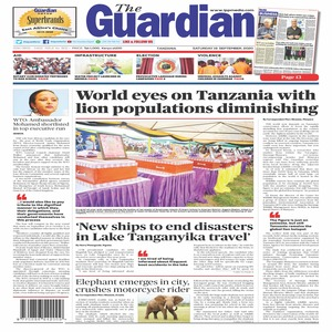 World eyes on Tanzania with  lion populations diminishing