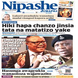 NIPASHE 27 SEPTEMBA 2020