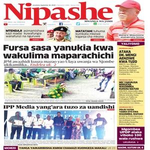 NIPASHE 30 SEPTEMBA 2020
