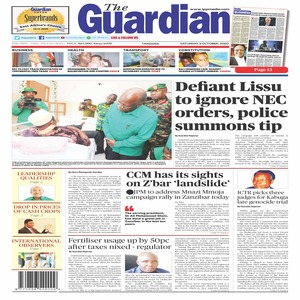 Defiant Lissu to ignore NEC  orders  police summons tip