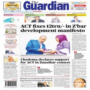 ACT fixes 12trn   in Z bar development manifesto