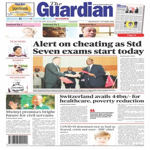 Alert on cheating as Std Seven exams start today