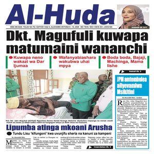 Dkt  Magufuli kuwapa matumaini wananchi