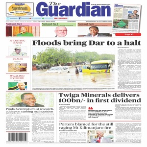 Floods bring Dar to a halt