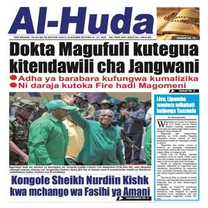 Dokta Magufuli kutegua kitendawili cha Jangwani