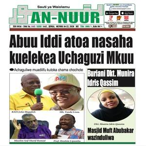 Abuu Iddi atoa nasaha kuelekea Uchaguzi Mku
