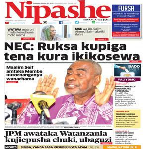 NIPASHE 21 OKTOBA 2020