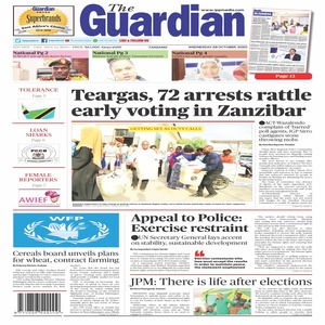 Teargas  72 arrests rattle early voting in Zanzibar