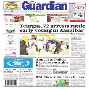 Teargas  72 arrests rattle early voting in Zanzibar