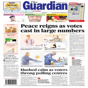 Peace reigns as votes cast in large numbers
