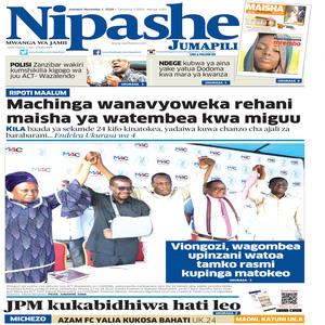 NIPASHE 01 NOVEMBA 2020