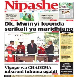 NIPASHE 3 NOVEMBA 2020