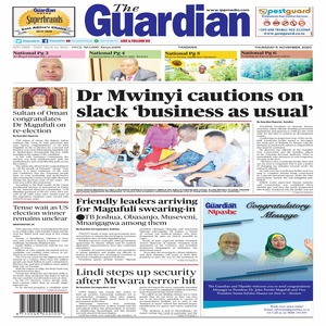 Dr Mwinyi cautions on slack  business as usual
