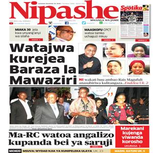 NIPASHE 16 NOVEMBA 2020